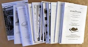 Littérature, Editions Originales, Grands Papiers. Ensemble de 18 catalogues de La Librairie Le ...