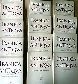 Iranica Antiqua. Du vol. I (1961) au vol. XIII (1978).