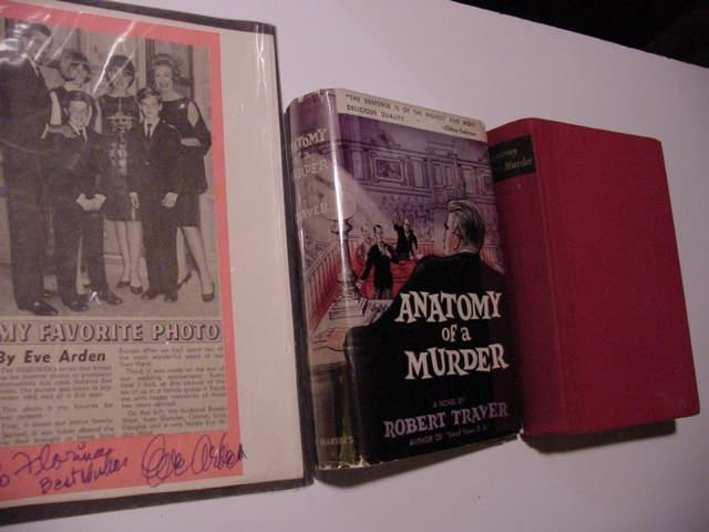 Anatomy Of A Murder Signed Plus Signed Movie Tie Ins By Traver