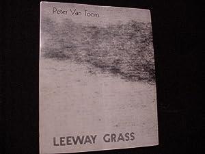 Leeway Grass: Van Toorn, Peter