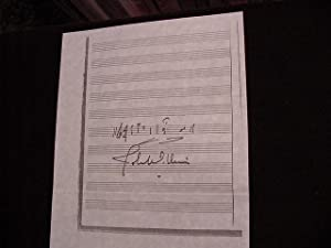 SIGNED MUSICAL QUOTATION (AMQS): Williams, John (Composer)