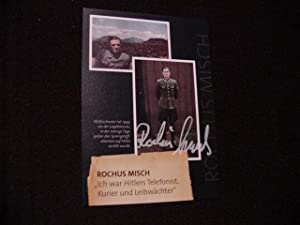 SIGNED PHOTO CARD: Misch, Rochus