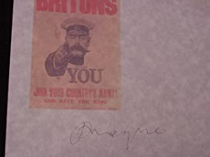 SIGNED AUTOGRAPH - The Great War: Mayne, Philip (1889-2007)