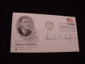 SIGNED FIRST DAY POSTAL COVER (FDC)