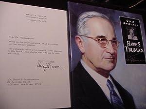 Harry S. Truman : Great Americans-A Photobiography: Truman, Harry S.