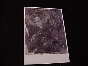 SIGNED NOTE (on 'Figure 2' card): Johns, Jasper