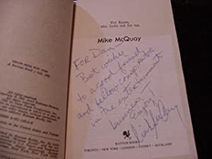 Escape From New York (SIGNED Plus SIGNED LETTER Plus MOVIE TIE-INS): McQuay, Mike