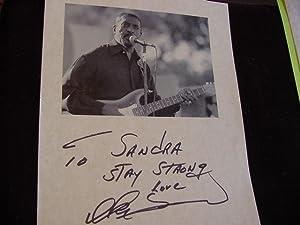 SIGNED PHOTO SHEET: Turner, Ike