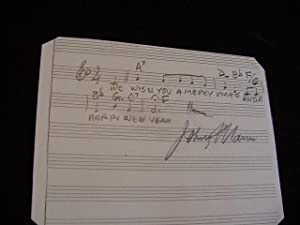 SIGNED MUSICAL QUOTATION (AMQS)