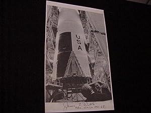 SIGNED PHOTO SHEET (NASA): Webb, James E.