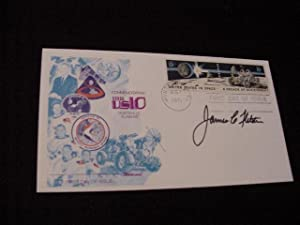 SIGNED FIRST DAY COVER (FDC) (NASA): Fletcher, James C.