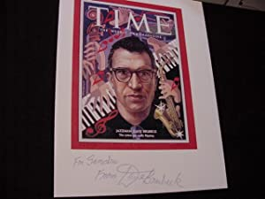 SIGNED IMAGE PHOTO (Time Magazine Cover): Brubeck, Dave
