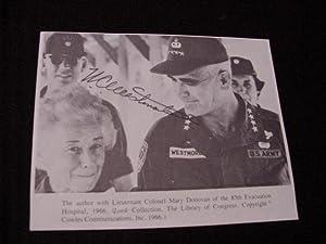SIGNED PHOTO: Westmoreland, William C. General