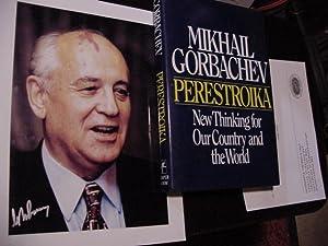SIGNED PHOTO: Gorbachev, Mikhail