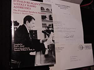 Ronald Reagan's Weekly Radio Addresses - The President Speaks to America - Volume 1: The First...