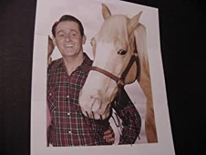 SIGNED PHOTO - (Mister Ed): Young, Alan