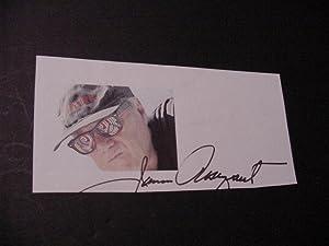 SIGNED PHOTO CARD: Rosenquist, James