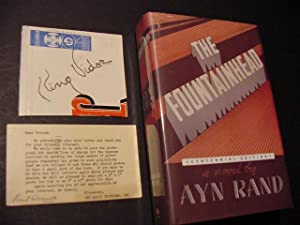 The Fountainhead (Centennial Edition HC) Plus SIGNED: Rand, Ayn