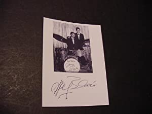 SIGNED PHOTO CARD