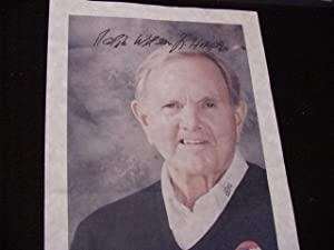 SIGNED PHOTO SHEET: Wilson, Ralph C. Jr.