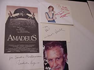 Amadeus (SIGNED Plus SIGNED STAGE & MOVIE TIE-INS): Shaffer, Peter