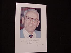 SIGNED PHOTO: Kevorkian, Jack Dr.