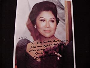 SIGNED PHOTO: Marcos, Imelda
