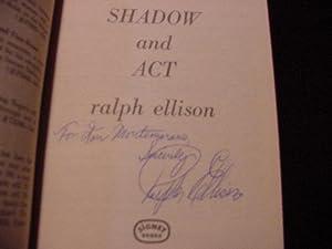 Shadow & Act (SIGNED): Ellison, Ralph