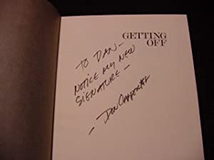 Getting Off (SIGNED): Carpenter, Don