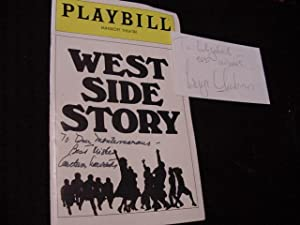 West Side Story (Playbill) (SIGNED): Laurents, Arthur