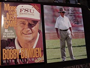 More Than Just a Game (Plus SIGNED PHOTO): Bowden, Bobby; Smith, Bill