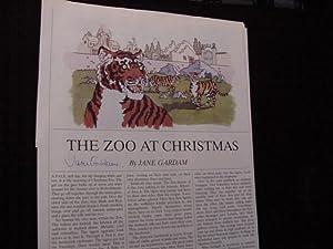 SIGNED STORY (The Zoo At Christmas): Gardam, Jane