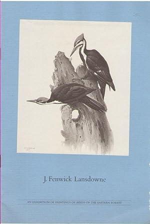 J. Fenwick Lansdowne: An Exhibition of Paintings: Lansdowne, J. Fenwick