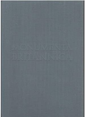 Monumenta Britannica or A Miscellany of British Antiquities [Parts One and Two]