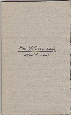 Epitaph for a Lady
