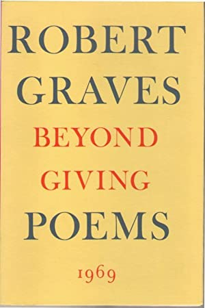 Beyond Giving: Poems