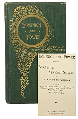 Dominion and Power: Studies in Spiritual Science