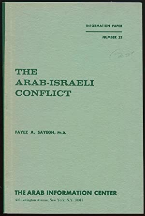 arab-israeli conflict research paper Israel and the palestinians face, this paper will ex- plore the  israeli-palestinian  conflict, is the development  overall, research indicates that when peace pro.