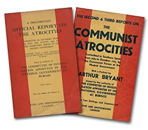 A Preliminary Official Report on the Atrocities: The Committee of