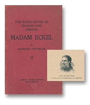 Maria Monk's Daughter of Sharon and Amenia: TWYNHAM, Leonard (pseud.)