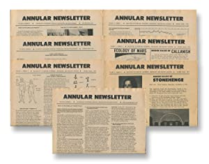 Annular Newsletter, Vol. 5, Nos. 3-4; Vol. 6, Nos. 1-5 , 1970-73 [seven issues]