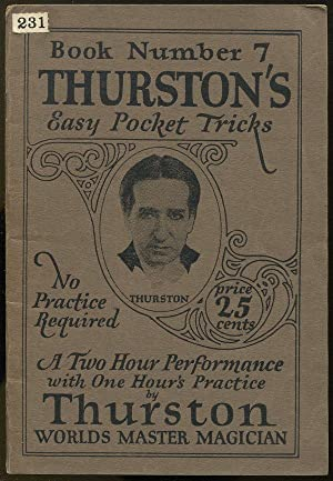 Thurston's Easy Pocket Tricks: The A-B-C of Magic (Book Number 7)