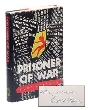 Prisoner of War [INSCRIBED]: MOLZAHN, Kurt