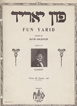 FUN YARID: Jt) B Charloff; David Goldstein