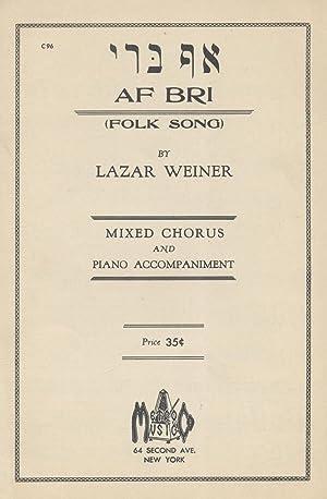 AF BRI: Jt) Lazar Weiner