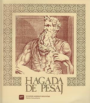HAGADA DE PESAJ: PARA LA FAMILIA HEBRAICA: Sociedad Hebraica Argentina.