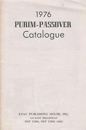 1976 PURIM-PASSOVER CATALOGUE: Ktav Pub. House