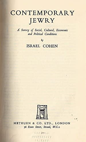 CONTEMPORARY JEWRY: Cohen, Israel