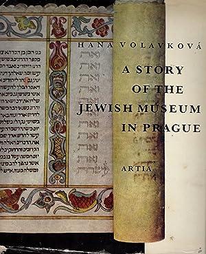PRIBEH ZIDOVSKEHO MUZEA V PRAZE (A STORY OF THE JEWISH MUSEUM IN PRAGUE): Volavkova, Hana