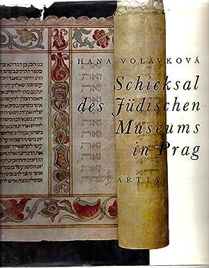 SCHICKSAL DES JÜDISCHEN MUSEUMS IN PRAG (A STORY OF THE JEWISH MUSEUM IN PRAGUE): Volavkova, Hana